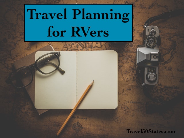 Travel Planning for RVers