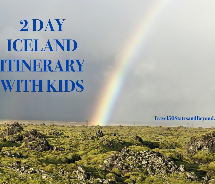 Itinerary: 2 Days in Iceland With Kids